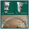 Making Decorative Plaster Corbel Gypsum Corbel