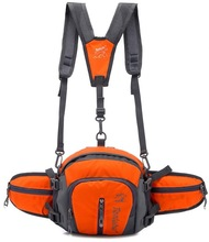 2014 high end removable multiple functional knapack / running waist bag with reflective strap/ camera bag