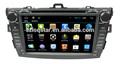 üretim araç için multimedya dvd oynatıcı toyota corolla 2007-2011 gps navigasyon
