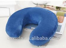 Hot sale !! Popular SleepMax Advanced Ultra Soft U-shape Memory Foam Travel Neck Pillow for camping &car & office