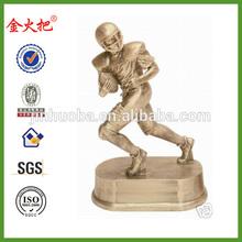 Top fantasy football resin statue award trophy