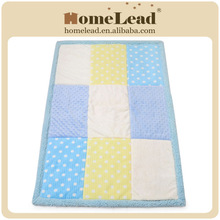 personalized 100% polyester baby patchwork quilt