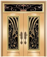 guangzhou indian designs double stainless steel metal doors
