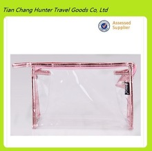 Promotion Clear PVC cosmetic bag , cosmetic tote bag