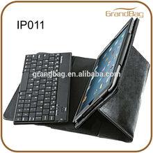 Bluetooth Keyboard Pro for iPad mini Tablet / Leather case for Ipad mini with Keyboard