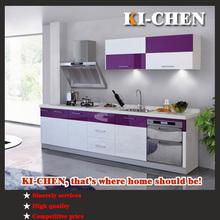 kitchen painted mdf high glossy modular design