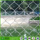 galvanized used chain link fence diamond mesh locks