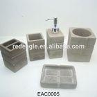 Natural cement concrete bathroom accessories dubai