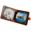factory portable custom made cd&dvd case bag with printing