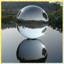 Wholesale Transparent Crystal Ball 300mm For Office Table Decoration