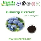 100% natural antioxidant/ anthocyanidins/ bilberry extract/blueberry extract