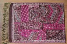 2014 new flower jacquard pashmina shawl lady's scarf 180*70cm with fringe