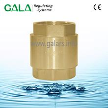 dn40 thread brass vertical lift air check valve for compressor