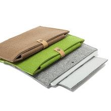 Wholesale High Quality Fashion Designed Wool Felt Laptop Sleeve FB0060
