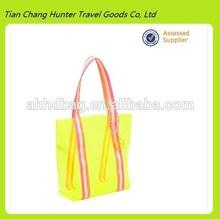 Beautiful Clear Yellow PVC Lady PVC Handbag, shoulder bag summer