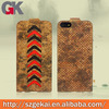 Cork wood high quality phone cases for IPhone 5