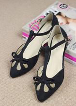 2014 New Arrival fashion women shiny flat shoes