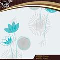 Flores grandes de revestimiento para paredes/pvc clásica murales de papel tapiz
