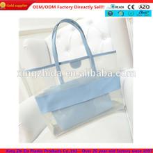 ladies pvc clear shopping bags