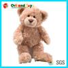 colorful plush crochet bear