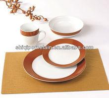 2014 antique new cheap porcelain custom dinner plate