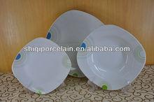 2014 new simple germany dinner set porcelain