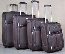 New style best stock trolley luggage suitcase