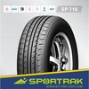 China Semi steel radial passenger car tyre 195/65R15