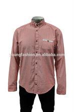 2014 Long Sleeve Cotton Fashion Men Shirts