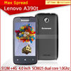 2014 Best Selling Levono A390T MTK6577 Dual Core 4GB ROM 512 RAM smart mobile cell phone