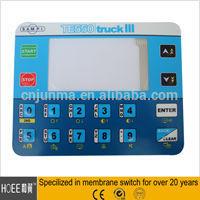 Best seller Waterproof Button Membrane Switch Rugged Stainless Steel Keypad