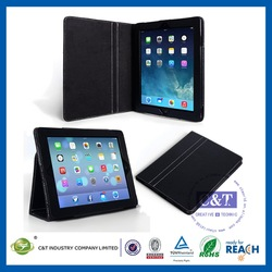 Manufacturer Wholesale Ultra Thin Slim for ipad air pu leather cover