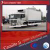 Donefeng 6- 8 m3 refrigerator ,ice cream cart ,van van for sale