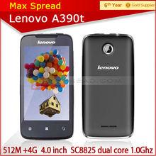 Hot cheap lenovo a390t SC8825 moblie phone 1.0GHz Dual Core 4.0 Inch wifi 3g gps qwerty