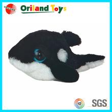 Custom Top Quality Logo Printed big eyes stuffed plush animals