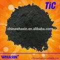Nano de carburo de titanio de partículas de tic que se utiliza para la metalurgia de polvo de metal de la producción de cerámica, cuttting herramientas