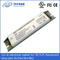 T8 T5 PL fluorescence lamp 12v dc electronic ballast