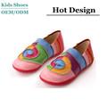 2014 más reciente de corea y japón de moda de la jalea diseño hermoso caliente del holgazán zapatos mujeres