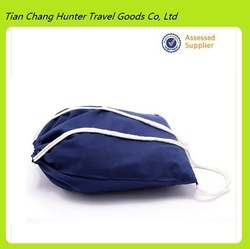 Cheap cotton drawstring laundry bag, draw string bag