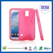 2014 hot selling View design s-style tpu case for samsung s5