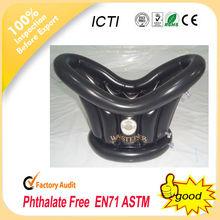 2014 New design inflatable beer Ice Bucket/Oval Plastic ice Bucket/Shoe-shaped gold ingot ice bucket
