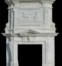 PFM Chinese popular luxury onsale fireplace corner fireplace decoration for hotel& house project design