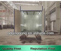 Sandblasting room for mold surface treatment machine