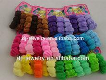 Mini soft hair elastic band with hook tpu crowm hair band for women