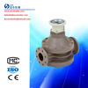 Diesel fuel oval gear flow meter