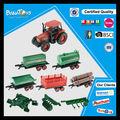 البند الساخنة 2014 للجرارات الزراعية لعبة من البلاستيك طفل مجموعة