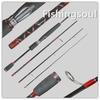 TVR005 Popular 198cm, travel fishing rod blank rod srf nano fishing rod carbon travel fishing rod