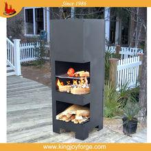 outdoor steel chiminea stands/ chimeneas