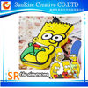 3D cute Cartoon Fashion soft silicone simpsons phone cover case For Apple iphone 5 5s 5C