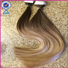 Top Quality Blend Color 18Inch Brazilian HumanTape Hair Extensions